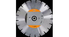 Алмазный отрезной диск 350 мм по бетону универсальный Hawera